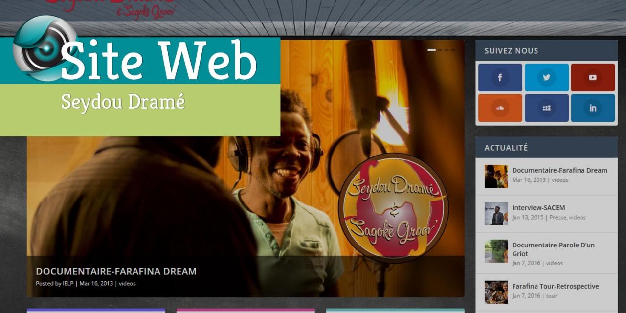 Site Web-Seydou Dramé