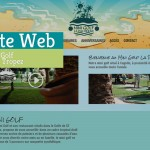 Site Web-Mini Golf La Palmeraie