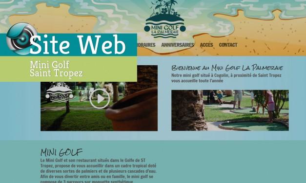 Site Web-Mini Golf La Palmeraie