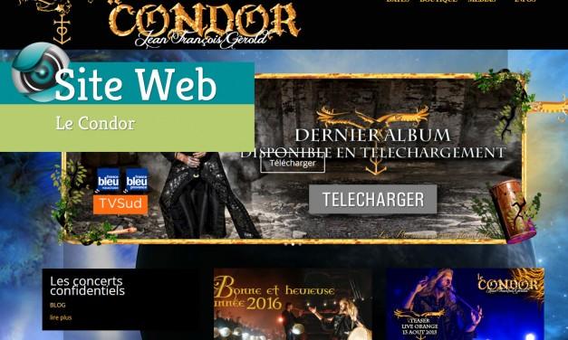 Site Web-Le Condor
